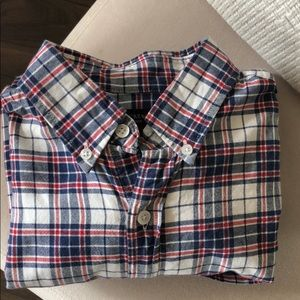 Men's J. Crew Oxford Shirt in Plaid